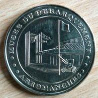 MUSEE DU DEBARQUEMENT ARROMANCHES 2002 MONNAIE DE PARIS COLLECTION NATIONALE MEDAILLE OFFICIELLE JETON TOURISTIQUE - Monnaie De Paris