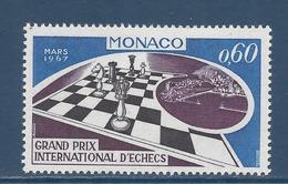Monaco - YT N° 724 - Neuf Sans Charnière - 1967 - Monaco