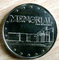 MEMORIAL CAEN NORMANDIE 2003 MONNAIE DE PARIS COLLECTION NATIONALE MEDAILLE OFFICIELLE JETON TOURISTIQUE - Monnaie De Paris