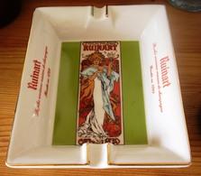 Cendrier Ruinart Alphonse Mucha - Ashtrays
