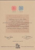 Danish West Indies 1977 Card Kobenhavns Philatelist Klub 90-Ars Jubilaemsudstilling Nr. 10086 - Danemark (Antilles)
