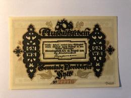 Allemagne Notgeld Norddorf 50 Pfennig - [ 3] 1918-1933 : Weimar Republic
