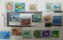 O) JAMAICA, FLOWERS-ECONOMIC-ARCHITECTURE -BUTTERFLIES-FISH-SPORT-QUEEN ELIZABETH II- SET MNH - Jamaica (1962-...)
