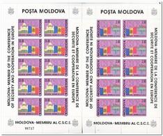 Moldavië 1992, Postfris MNH, Accession Of Moldova To The CSCE - Moldavië