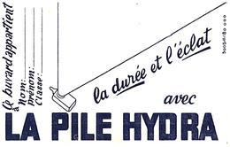 Pi H/ Buvard Pile Hydra   (N= 3) - Accumulators