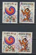 °°° COSTA RICA  - Y&T N°504/5 - 1988 °°° - Costa Rica