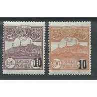 SAN MARINO 1941 Soprastampati Tipi Del 1925 S.40   Nuovi * Linguellati  COD.FRA.1034 - San Marino