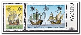 Moldavië 1992, Postfris MNH, 500th Anniversary Of The Discovery Of America - Moldavië