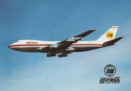Iberia,Boeing 747,ungelaufen - 1946-....: Modern Era