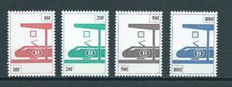 1982 Belgium Complete Set Spoorwegen,railways MNH/Postfris/Neuf Sans Charniere - Spoorwegen