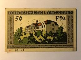 Allemagne Notgeld Oldenburg 50 Pfennig - [ 3] 1918-1933 : Weimar Republic