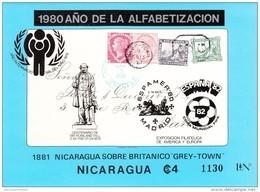 Nicaragua Hb Michel 122 - Fußball-Weltmeisterschaft