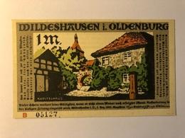 Allemagne Notgeld Oldenburg 1 Mark - [ 3] 1918-1933 : Weimar Republic