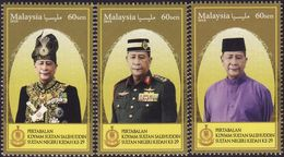 Malaysia 2018-18 Installation Of Sultan Kedah MNH Royalty - Malaysia (1964-...)
