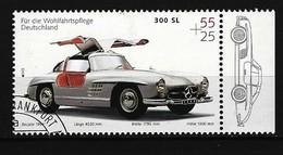 BUND Mi-Nr. 2291 Mercedes 300 (1954) Gestempelt (8) - Autos