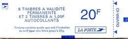 France.carnet 1509.carnet De 8 Timbres Composition Variable.neuf Non Ouvert. - Definitives