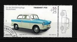 BUND Mi-Nr. 2290 Trapant P 50 (1961) Gestempelt (8) - Autos