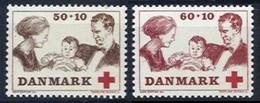 Denmark, 1969, The Royal Family, Set, MNH, Mi# 488/89 - Danemark