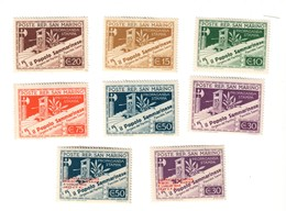 SAN MARINO 1943  S.43 + 44   Nuovi * Linguellati  COD.FRA.1084 - San Marino