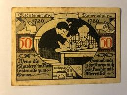 Allemagne Notgeld Weissenfels 50 Pfennig - [ 3] 1918-1933 : Weimar Republic