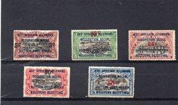 RUANDA-URUNDI 1922 * - 1916-22: Mint/hinged