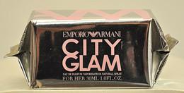 Emporio Armani City Glam For Her Eau De Toilette Edt 30ML Spray Fl. Oz. 1 Perfume Woman Rare Vintage Old 2005 New Sealed - Women