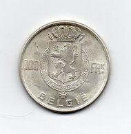 Belgio - 1951 - 100 Franchi - Argento - (MW1624) - 06. 100 Franchi