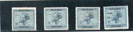 RUANDA-URUNDI 1925-7 * - Ruanda-Urundi