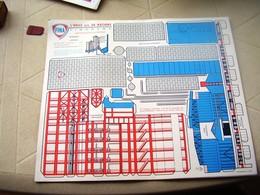 Fina Planche A Decouper Finarama,raffinerie - Technical Plans