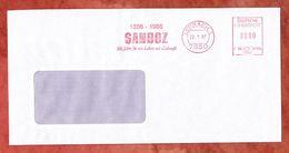 Brief, Francotyp-Postalia F66-0136, Sandoz, 80 Pfg, Loerrach 1987 (59085) - [7] République Fédérale