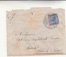 Ufficio Postale Austriaco A Costantinopoli Per Venezia Cover 1905 - Oriente Austriaco