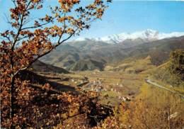 ROUSSILLON Le Vallespir La Vallee Du Tech Entre ARLES Et AMELIE Et Le Canigou Alt 2785m 9(scan Recto-verso)MA593 - Roussillon