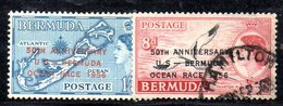 T1051 - BERMUDA , Yvert N. 152/153 Mista Us/* - Bermuda
