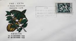 COTE D'IVOIRE 1960 - 1ere Réunion Internationale BANANE  CAFE - Daté Abidjan 21-29.10.1960 - TBE - Ivory Coast (1960-...)