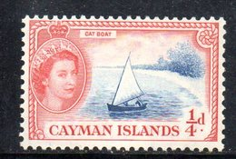 T1053 - CAYMAN 1953, Un Valore Integro Yvert 140  *** - Cayman (Isole)