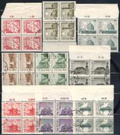 POLEN  1966 - MiNr: 1705-1713 - 4er  Komplett  Used - 1944-.... Republik