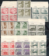 POLEN  1966 - MiNr: 1705-1713 - 4er  Komplett  Used - Gebraucht