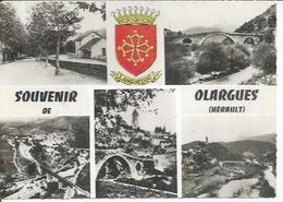 1 - SOUVENIRS DE OLARGUES  ( 5 VUES ) - Non Classés