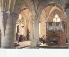 Saint Wandrille Eglise Saint Michel Choeur 13è Siècle Orgue Gutschenritter Construit En 1926 - Saint-Wandrille-Rançon
