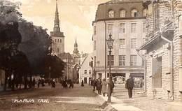 Estonia - Karja Tän (animation, Shops, Theater Keller Photo Postcard Parikas Tallinn 1927) - Estonia