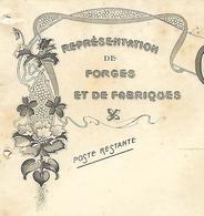 Facture 1913 / 52 VIGNORY / C. PREVOT / Représentation De Forges Et De Ses Fabriques - France