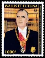 WALLIS ET FUTUNA 2011 - Yv. 753 **   Faciale= 8,38 EUR - Georges Pompidou, Président De La RF  ..Réf.W&F22287 - Wallis-Et-Futuna