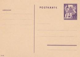 Deutsches Reich General Gouvernement Postkarte P9 1940 - Briefe U. Dokumente