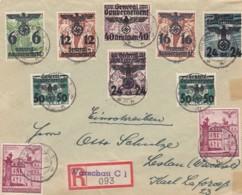 Deutsches Reich General Gouvernement R Brief 1940 - Germany
