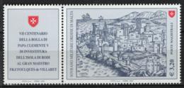 SMOM 2007 Sass.873 MNH/** VF - Malte (Ordre De)