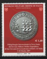 SMOM 2007 Sass.887 MNH/** VF - Malte (Ordre De)