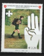 SMOM 2007 Sass.888 MNH/** VF - Malte (Ordre De)