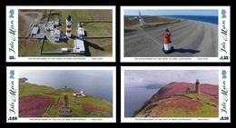 Isle Of Man 2018 Mih. 2422/25 Lighthouses MNH ** - Man (Ile De)