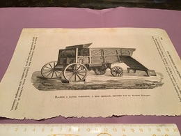 Une Image Du Live Les  Merveille De L'exposition Machine à Battre Portative à Huit Chevaux Exposé Par La Maison Albare - Vieux Papiers