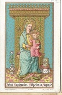 DI/14/      SEDES SAPIENTIA    LITHO  + GOUDOPDRUK - Religion & Esotérisme